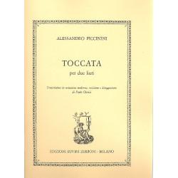 Piccinini, Alessandro: Toccata : per 2 liuti partitura