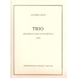 Veress, Sandor: Trio : per violino, viola e violoncello parti