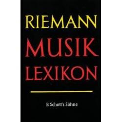 Riemann, Hugo: MUSIKLEXIKON ERGAENZUNGSBAND 1 : A-K LEINEN