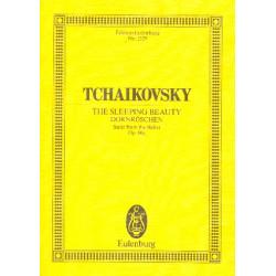 Tschaikowsky, Peter Iljitsch: Dornr├Âschen-Suite op.66a : f├╝r Orchester Studienpartitur