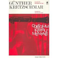 Kretzschmar, Günther: Concerto für Klarinette und Orchester : für Klarinette und Klavier