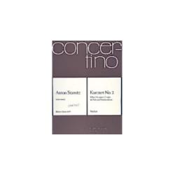Stamitz, Johann Anton: Konzert Nr. 2 F-Dur : für Viola und Streicher Partitur