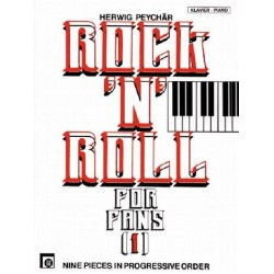 Rock'n'Roll for Fans Band 1 : 9 pieces in progressive order for piano