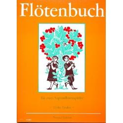 Flötenbuch : 40 Kinderlieder 2 Sopranflötenspieler, Partitur