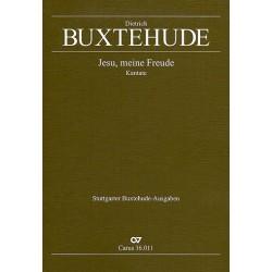 Buxtehude, Dieterich: Jesu meine Freude BuxWV60 für 3 Singstimmen (SSB), 2 Violinen, Fagott und Bc, Partitur
