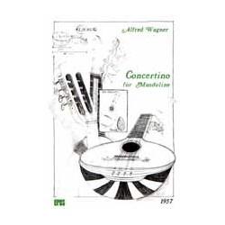 Wagner, Alfred: Concertino : f├╝r Mandoline solo