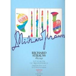 Strauss, Richard: Suite B-Dur op.4 : für 13 Blasinstrumente Partitur