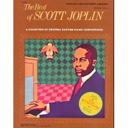 Joplin, Scott: The Best of Scott Joplin : a col- lection of original ragtime piano compositions : book no. 1