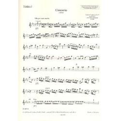 Vivaldi, Antonio: Konzert c-Moll RV441 : f├╝r Blockfl├Âte und Streichorchester Violine 1