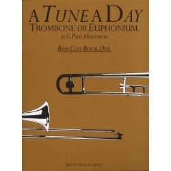 Herfurth, C. Paul: A Tune a Day vol.1 : for trombone (euphonium, baritone)