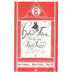 Lanner, Joseph Franz Karl: Hofball-Tänze op.61 : für Salonorchester