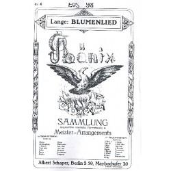 Lange, Gustav Friedrich: Blumenlied op.39 : für Salonorchester