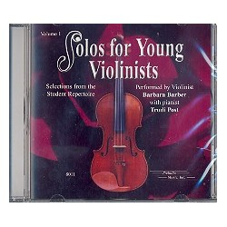 Solos for young Violinists vol.1 CD