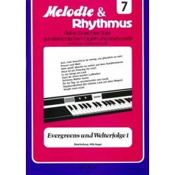 Evergreens und Welterfolge Band 1 : f├╝r E-Orgel / Keyboard