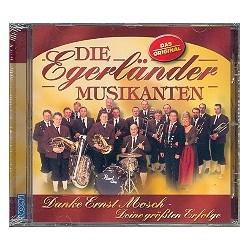 Danke Ernst Mosch CD Deine größten Erfolge Die Egerländer Musikanten