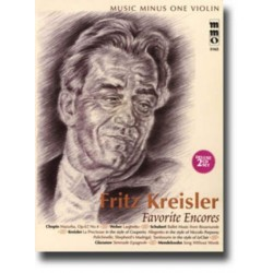 Fritz Kreisler Favorites Encores (+ 2 CD's) : for violin and piano