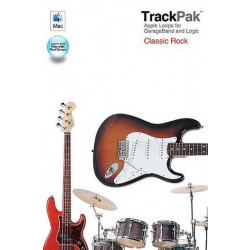 TrackPak Classic Rock (+DVD-ROM) : Complete tracks for 12 hits of the 60s and 70s
