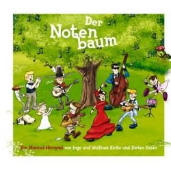 Eicke, Wolfram: Der Notenbaum Digipack (CD + Booklet, ohne topographische Karte)