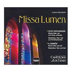 Maierhofer, Lorenz: Missa Lumen : CD Vokal-instrumentale und a cappella-Version