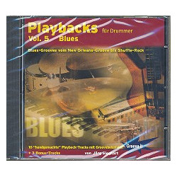 Sieghart, Jörg: Playbacks für Drummer vol.5 CD Blues