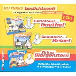 Türk, Ulrich: Uli Türks Gedichtezeit Band 1-3 : 3 Hörspiel-CD's im Schuber
