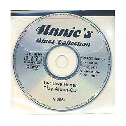 Heger, Uwe: Annie' Blues-Collection CD Sopranblockflöte tiefe Lage oder Oboe