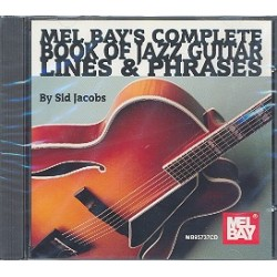 Jacobs, Sid: Complete Book of Jazz Guitar Lines and Phrases : CD