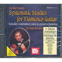 Serrano, Juan: Systematic studies for flamenco guitar : 2 CD's