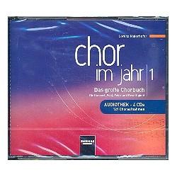 Chor im Jahr Band 1 - Audiothek : 4 CD's