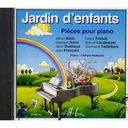 Jardin d'enfants CD Pieces pour piano