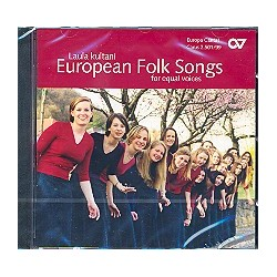 Laula kultani : CD European Folk Songs for equal voices