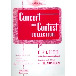 Concert and Contest Collection for Flute : CD