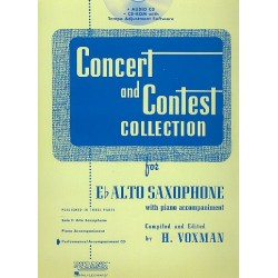 Concert and Contest Collection for Alto Saxophone : CD