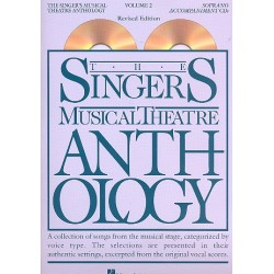 The Singer's Musical Theatre Anthology vol.2 for soprano 2 CD's