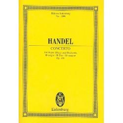 Händel, Georg Friedrich: Konzert B-Dur op.4,6 : für Orgel und Streichorchester Studienpartitur