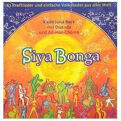 SiyaBonga : 2 CD's mit Buch