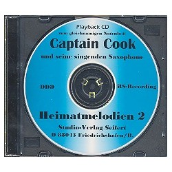 Captain Cook Heimatmelodien Band 2 : Playback-CD