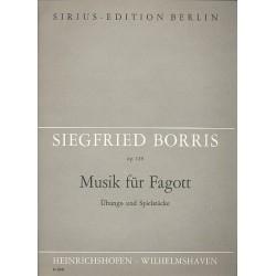 Borris, Siegfried: Musik für Fagott op.119