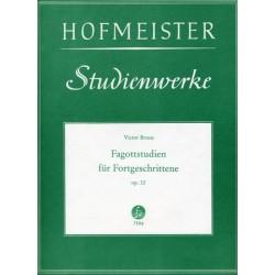 Bruns, Victor: Fagottstudien für Fortgeschrittene op.32
