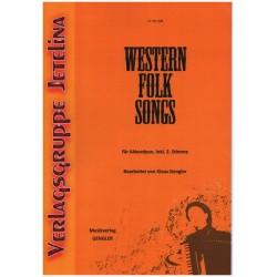 Western Folk Songs : Ausgabe für Akkordeon, Piano, Melodica