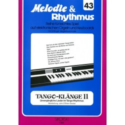 Tango-Klänge Band 2 : für E-Orgel / Keyboard