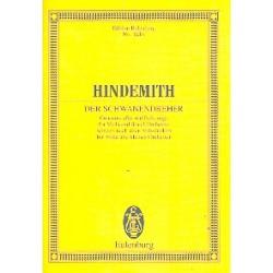 Hindemith, Paul: Der Schwanendreher : für Viola und Orchester Studienpartitur