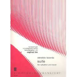 Lacerda, Osvaldo: Suite : f├╝r Xylophon und Klavier