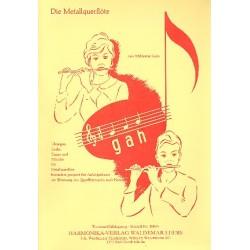 Leers, Waldemar: Die Metallquerflöte g a h Trommel, Schlagzeug