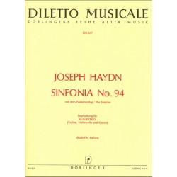 Haydn, Franz Joseph: Sinfonie G-Dur Nr.94 Hob.I:94 : für Klaviertrio
