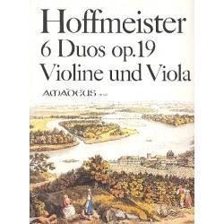 Hoffmeister, Franz Anton: 6 Duos op.19 für Violine und Viola Stimmen