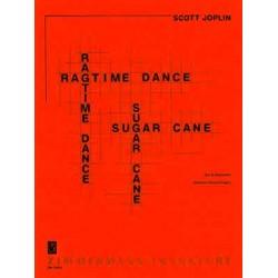 Joplin, Scott: 2 Ragtimes für 6 Gitarren Partitur und Stimmen