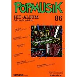 POPMUSIK HIT-ALBUM BAND 86 : FUER KEYBOARD / AKKORDEON