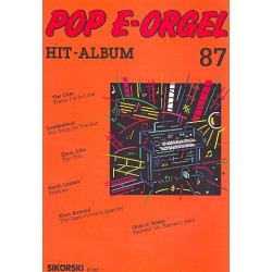 Pop E-Orgel Hit-Album Band 87