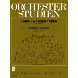 Wagner, Richard: Orchesterstudien : für Horn oder Wagner-Tuben : Der Ring des Nibelungen 1 und 2